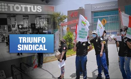 Trabajadores de Tottus logran justo aumento en plena pandemia, por Carlos Mejía