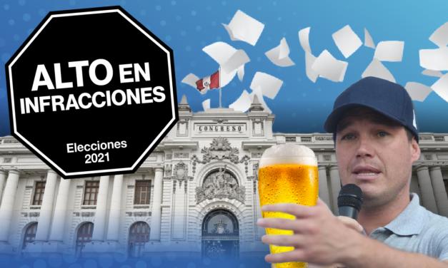 [GRÁFICA] Elecciones 2021: Candidatos con infracciones al conducir