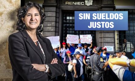 RENIEC: Altos funcionarios reciben aumento mayor a S/ 9 mil y trabajadores solo de S/ 81