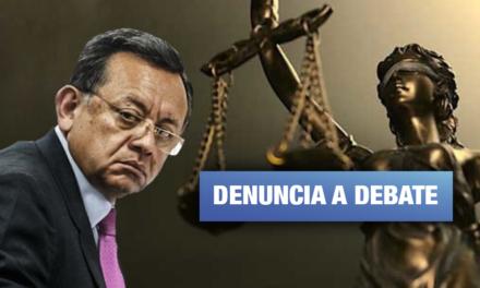 El peso de la justicia cada vez más cerca de Edgar Alarcón
