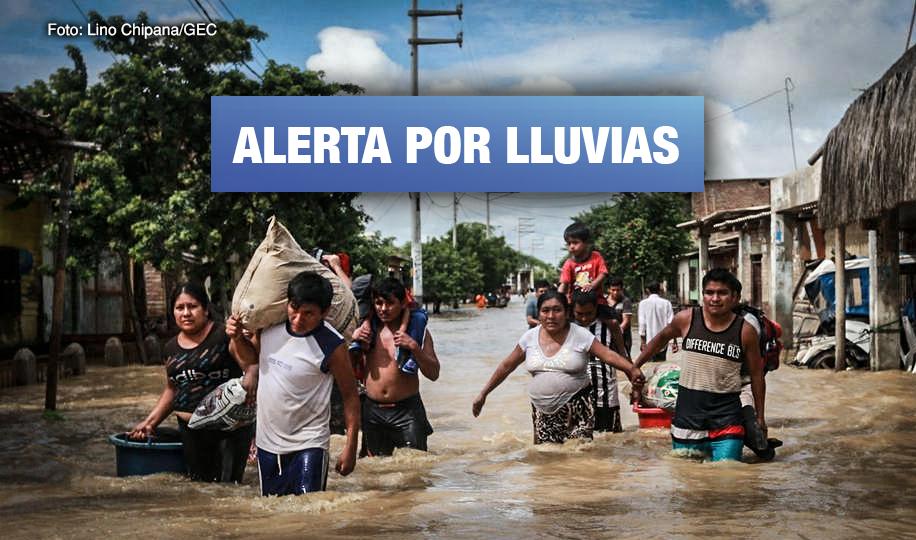 Más de 12 millones de peruanos en riesgo por huaicos e inundaciones