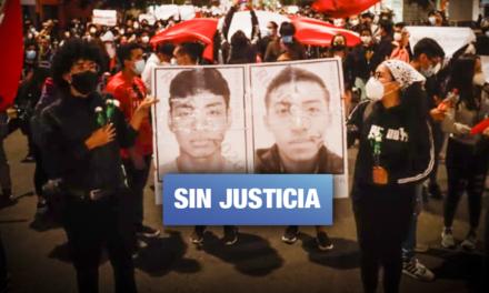 Heridos y deudos de la represión policial del 14N tocan las puertas de la CIDH