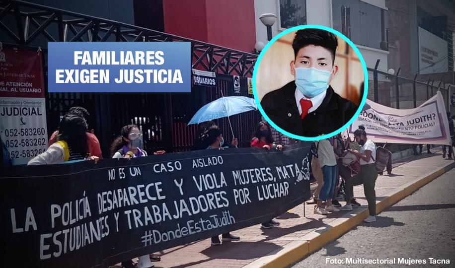 Tacna: Policía investigado por desaparición de joven de 20 años ocultó información