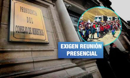 Las Bambas: Ministros no asistieron a reunión con comuneros que exigen canon minero