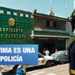 El Agustino: Alférez de la comisaría de San Cayetano es denunciado por violación