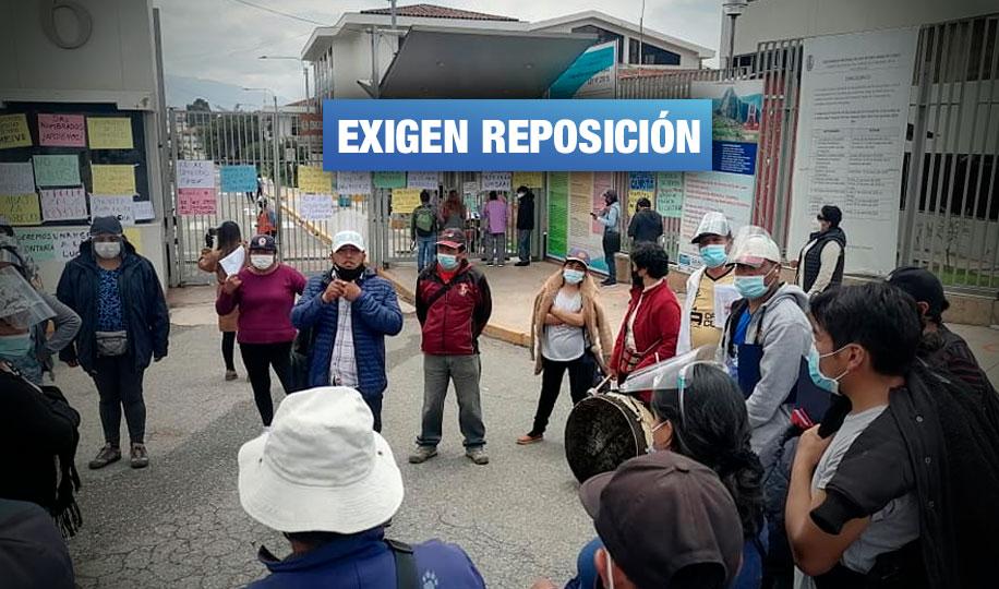 90 trabajadores de régimen CAS son despedidos en universidad nacional de Cusco