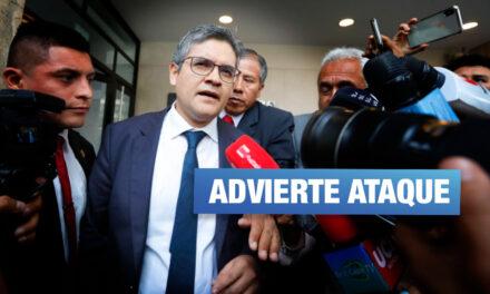 Lava Jato: Fiscal Pérez alerta demanda de Sunat contra su despacho