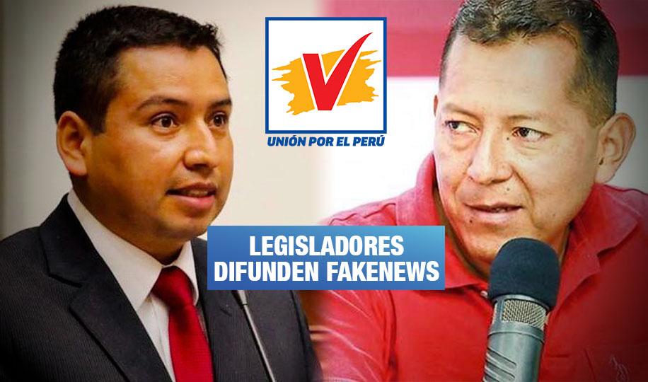 Congresistas de UPP divulgan mentiras sobre el COVID-19, las vacunas y el dióxido de cloro
