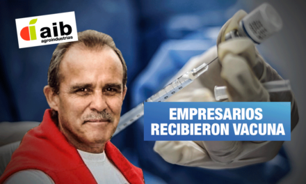 Vacunagate: Gerente de AGROINDUSTRIAS AIB S.A. recibió 2 dosis extra de Sinopharm