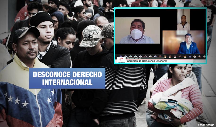 Advierten riesgos en proyecto de ley que busca expulsar a migrantes indocumentados