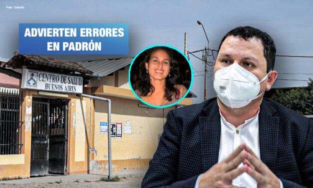 Sobrina del gobernador de Piura recibió vacuna pese a que no trabaja en centro de salud