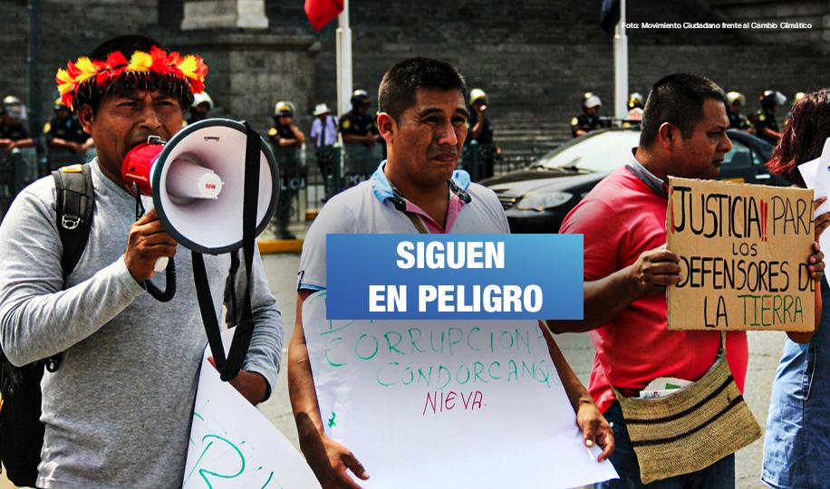 Ataques contra defensores ambientales, dirigentes sindicales, periodistas y activistas quedan impunes
