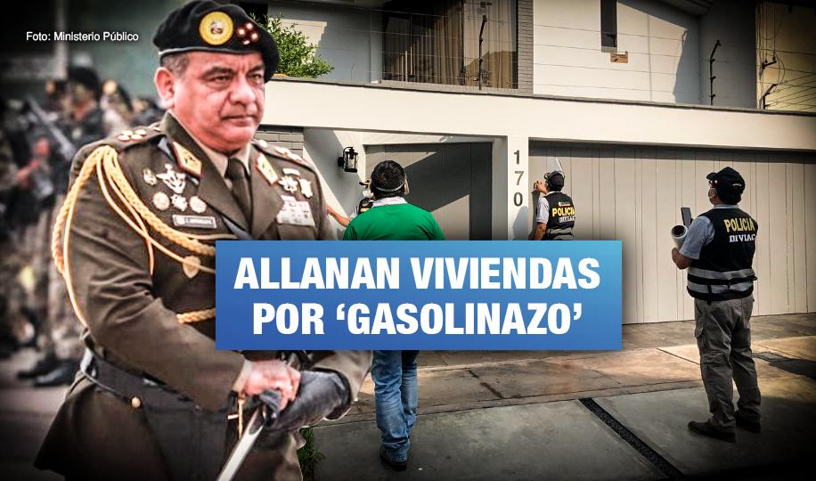 Cinco generales del Ejército son involucrados en negociado de combustible