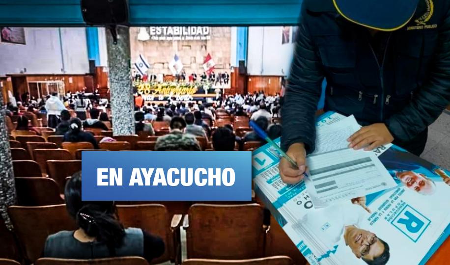 Hallan propaganda de Renovación Popular en intervención policial a iglesia evangélica