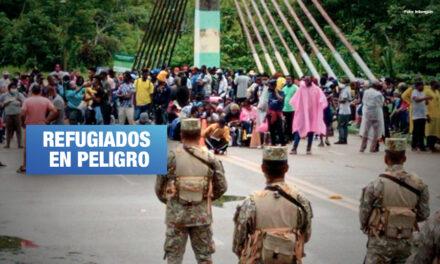 Fuerzas Armadas reprimen caravana de haitianos que intentaban llegar a Ecuador