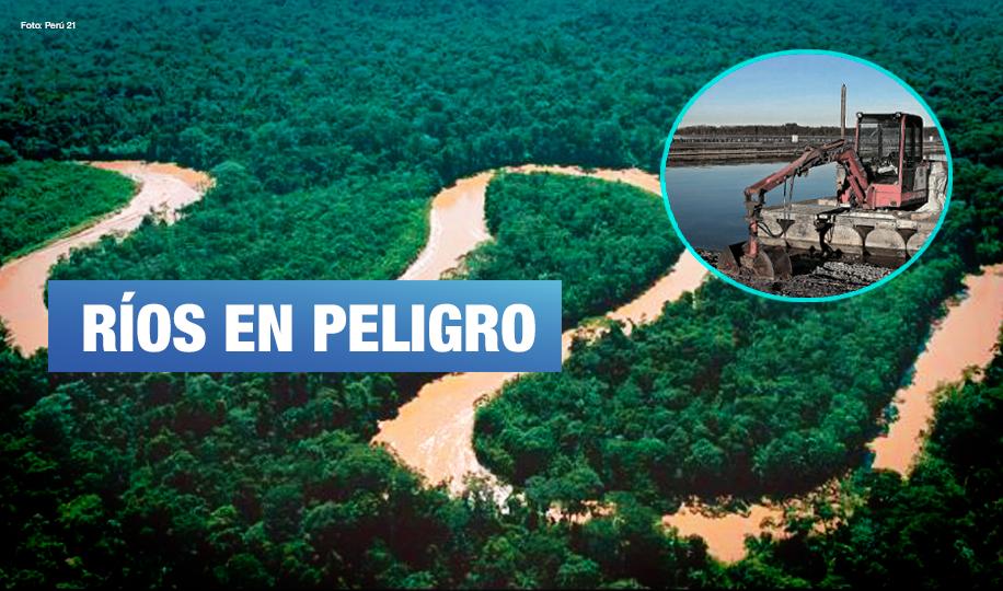 Organizaciones indígenas demandan al Estado por proyecto Hidrovía Amazónica