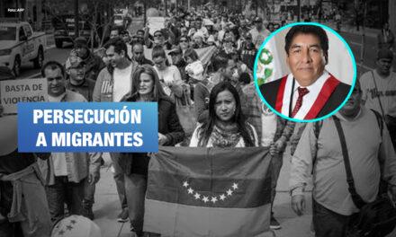 Presentan proyecto de ley que atenta contra ciudadanos venezolanos en Perú