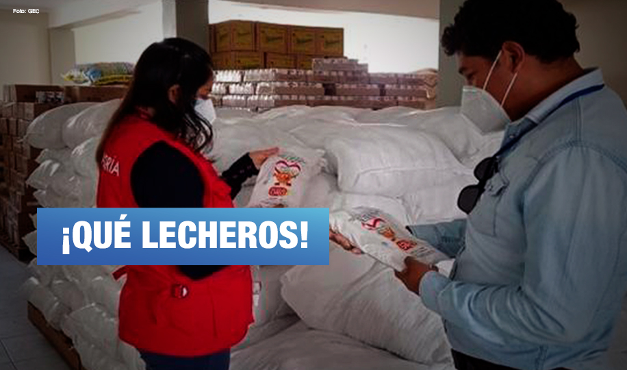 Áncash: Contraloría detecta irregularidades en contratos de empresas proveedoras al Vaso de Leche