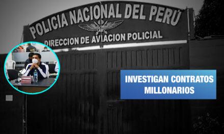 Familia de oficial de la PNP contrató con la Aviación Policial a través de empresa fachada