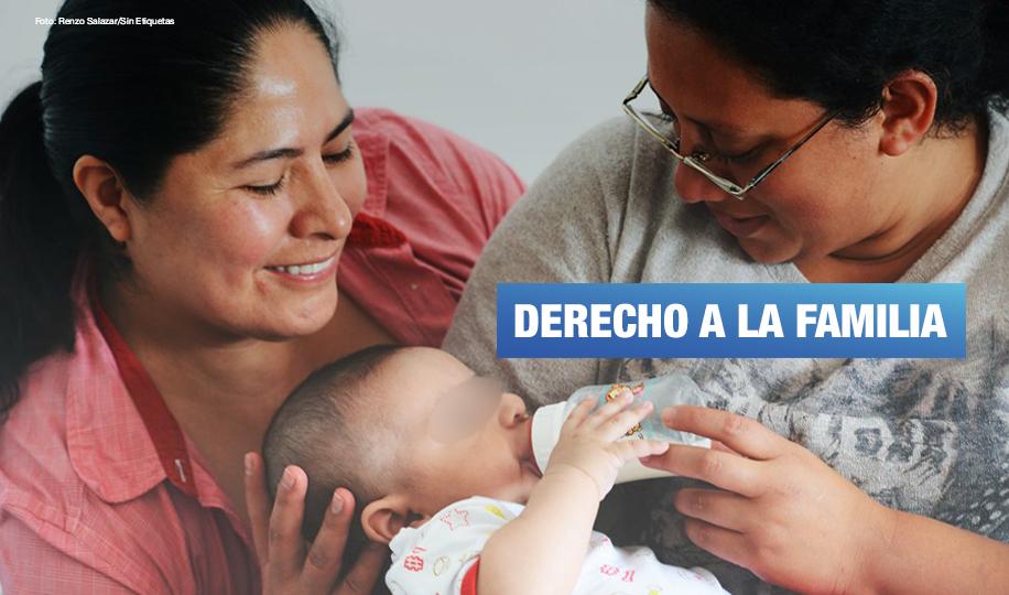 Exigen a RENIEC emitir DNI de niño con el reconocimiento de sus dos mamás