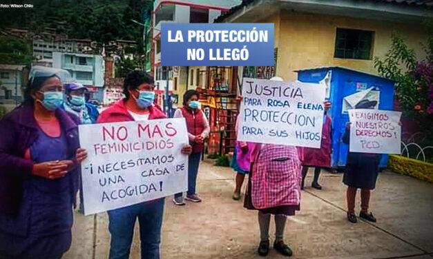 Víctima de feminicidio denunció en varias oportunidades a su asesino