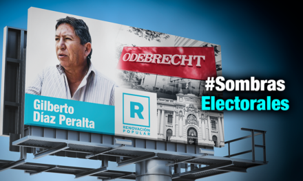 Candidato de López Aliaga promovió ley que benefició a Odebrecht