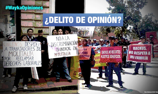 Grandes empresas contra dirigentes sindicales, por Carlos Mejía