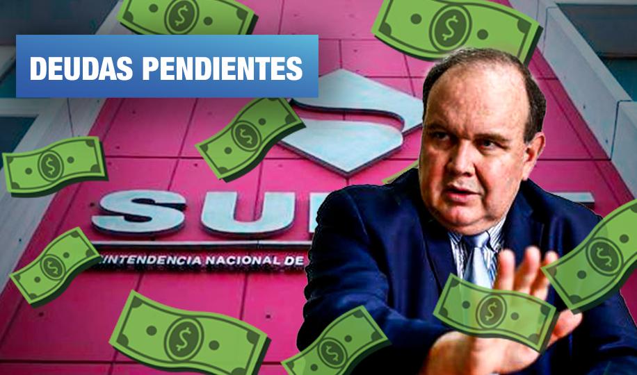 Tres empresas del grupo económico de López Aliaga mantienen deudas coactivas por más de S/ 8 millones