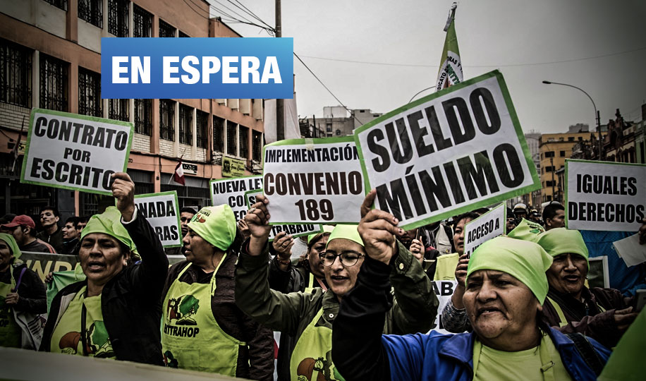 Ley de Trabajadoras del Hogar: Gobierno no cumple con publicar reglamento a 6 meses de aprobarse