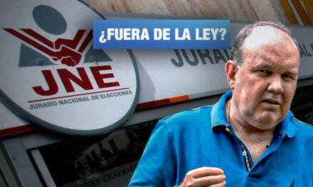 López Aliaga 'acomoda' declaración de aportes a sus candidatos para no quedar fuera de contienda