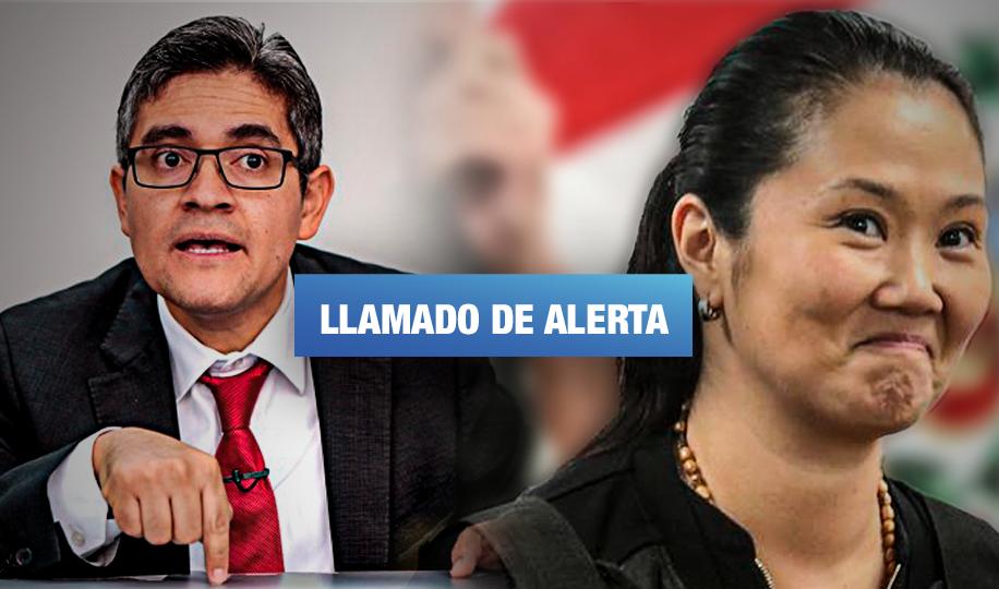 Fiscal Domingo Pérez advierte posible retraso de audiencia de control de pruebas contra Keiko