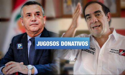 Podemos y Acción Popular recibieron más de 2 millones de soles de financiamiento