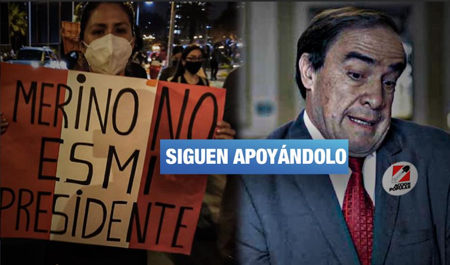 Congresistas golpistas y candidatos con antecedentes penales aportan en campaña de Lescano