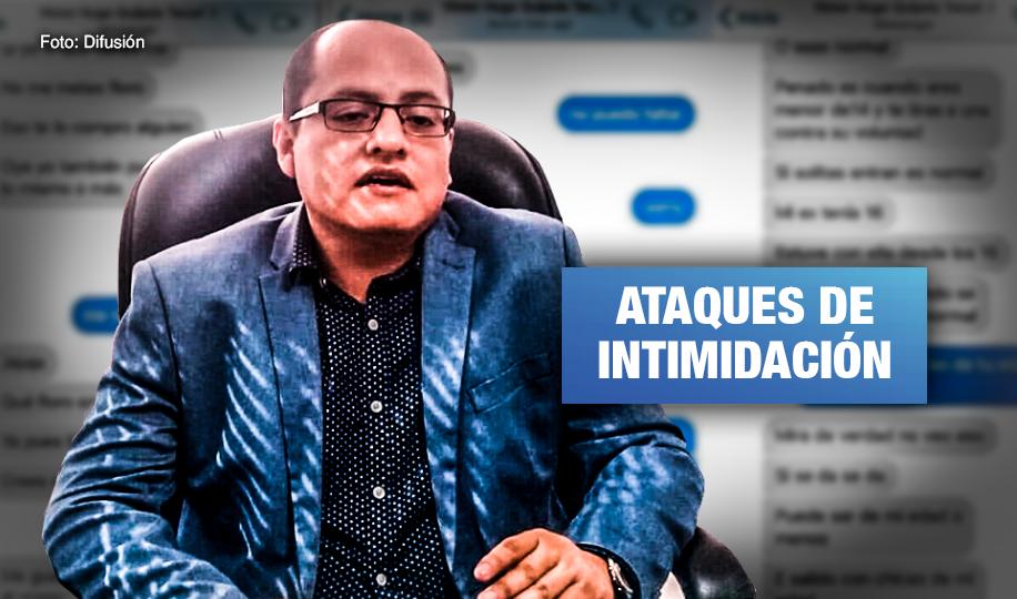 Amenazan a periodistas de Wayka por revelar denuncias contra candidato Nacionalista