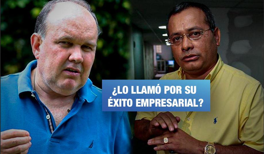 Colaborador eficaz afirma que Rodolfo Orellana contactó a López Aliaga para «asesoría financiera»