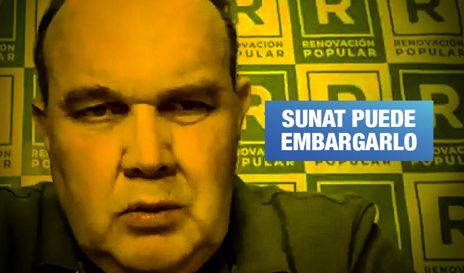 Rafael López Aliaga debe pagar deuda coactiva, afirman exjefes de la Sunat