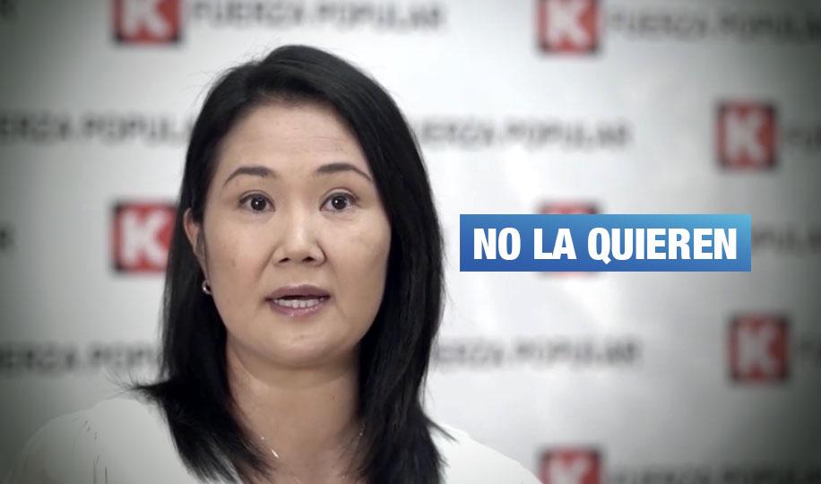 Keiko Fujimori es la candidata con mayor antivoto en las elecciones, según IEP