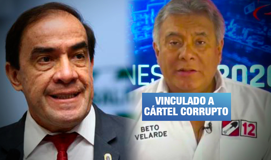 Candidato a vicepresidencia de Lescano vinculado a empresa del 'Club de la Construcción'