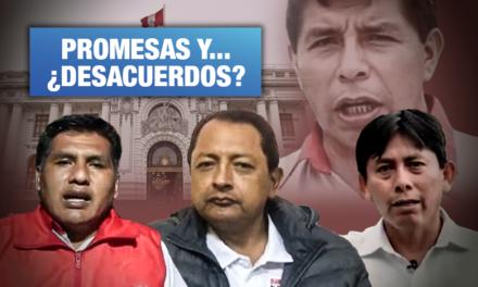 Las propuestas de los congresistas más votados de Pedro Castillo
