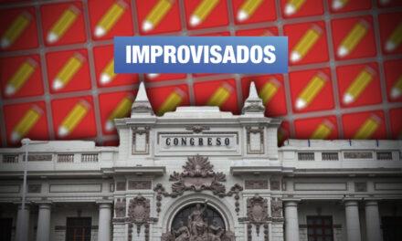 Solo 3 de los 37 virtuales congresistas de Perú Libre tienen experiencia en cargos públicos