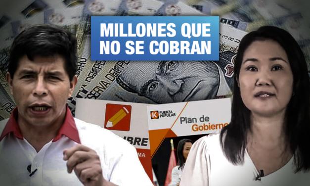 Beneficios tributarios: Incertidumbre en los planes de gobierno de Perú Libre y Fuerza Popular