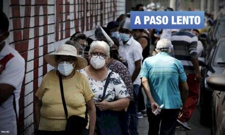 Solo 2% de 23 millones de peruanos han sido inmunizados