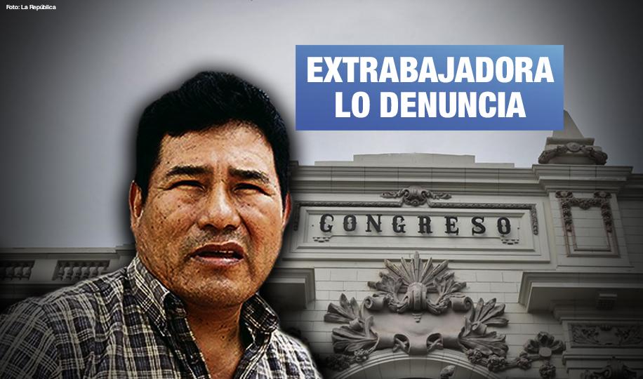 Presidente de comisión de Fiscalización del Congreso es denunciado por acoso