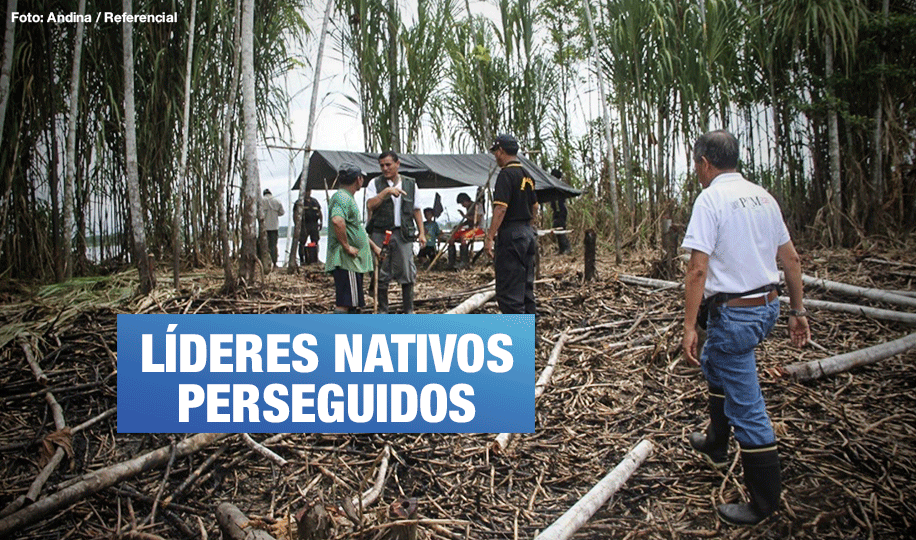 Narcotraficantes amenazan y torturan a cuatro defensores ambientales en Ucayali