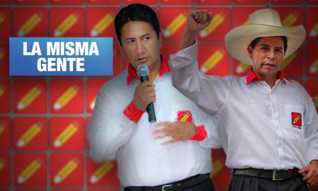 Aportantes de campaña de Castillo son allegados de Cerrón