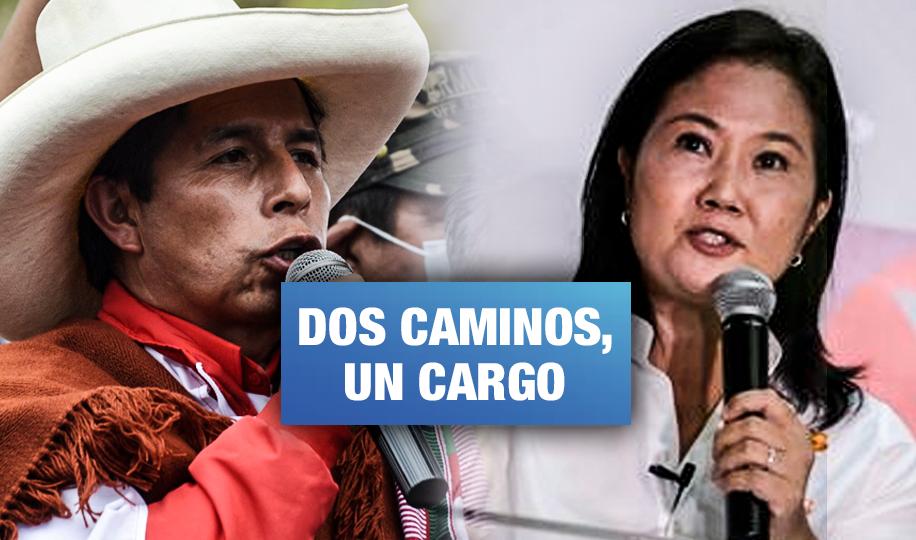 Las dificultades de Fuerza Popular y Perú Libre para ganar las elecciones