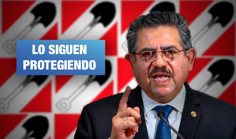 Acción Popular ratifica que no sancionará a Merino por golpe de Estado ni muertes de Inti y Bryan