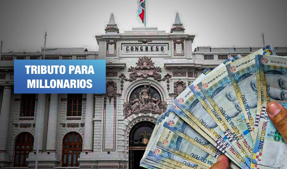 Comisión de Economía debatiría en mayo tres proyectos de ley de impuesto a la riqueza