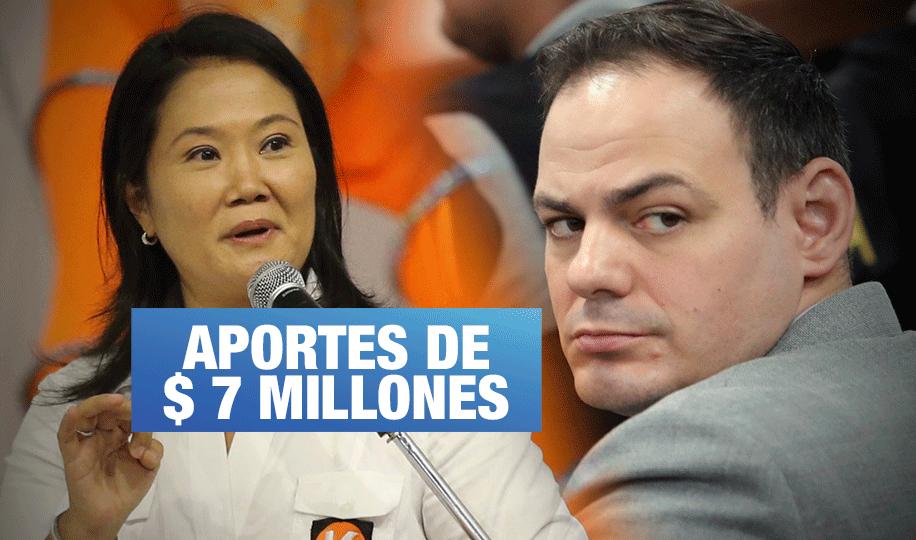Empresario revela que Mark Vito recogía aportes clandestinos para su esposa Keiko Fujimori