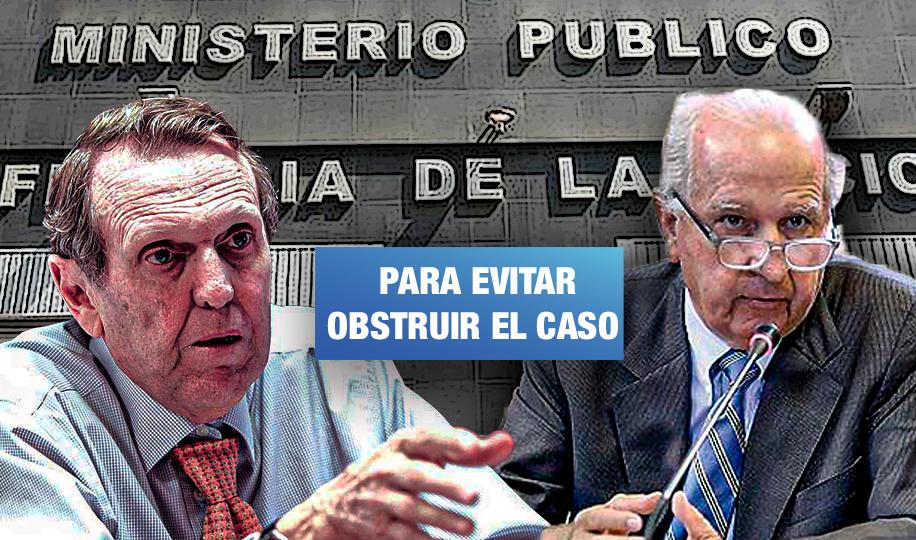 Fiscalía pide impedimento de salida del país y medidas restrictivas para José y Hernando Graña